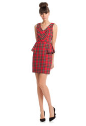 Trina Turk Women's Sleeveless Charlena Dress - Red - Size: One Size