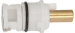 "DDI Economy Hot/Cold Faucet Cartridge 12 Pkg - Size: 1-15/16"" Length"