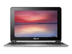 "ASUS 10.1"" 2-in-1 Chromebook 1.8GHz 4GB 16GB Chrome OS (C100PA-DB02)"