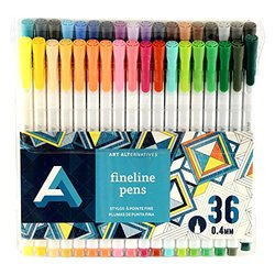 Art Alternatives Fine Liner Pen Set/36