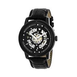 Reign Belfour Men's Watch: 3606 Black Band-Black Dial