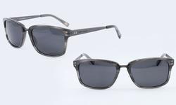 Tommy Bahama Polarized Grey Horn Sunglasses