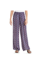 Vintage America Women's Blues Magnolia Printed Pant - Multi - Size: M