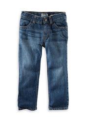OshKosh B'gosh Toddler Boy's Straight Leg Jeans - Anchor Dark - Size: 3T