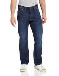 Izod Men's Regular-Fit Jean - Dark Vintage - Size: 36Wx32L