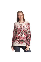 Oneworld Printed Pullover
