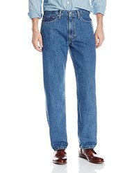 Levi's Men's 550 Relaxed Fit Jean - Medium Stonewash - Size: 42x30