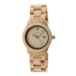 Earth Wood Men's Watches Pith Collection: EW1801 - Khaki/Tan