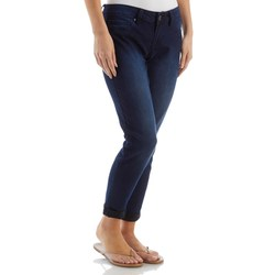 YMI Women's So Soft Ankle Jeans - Dark Wash - Size: 3