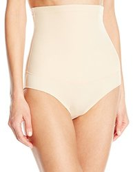 Maidenform Flexees Women's Hi-Waist Brief - Latte Lift - Size: Large