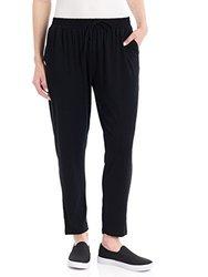 Hue Women's Chill Rayon Jersey Skimmer - Black -Size: Medium