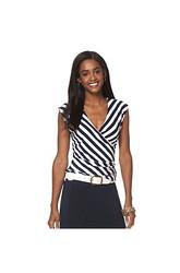 Chaps Striped Jersey Shirt Chaps Striped Jersey Shirt