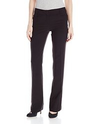 A. Byer Junior's Slight Bootcut Suiting Pant - Black - Size: 7