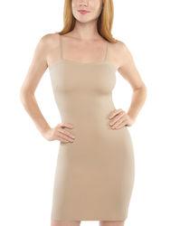 Assets Women's Firmers Convertible Slip Dress - Nude - Size: Large