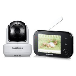 Samsung Wireless Pan Tilt Video Baby Monitor Night Vision Zoom (SEW-3037W)