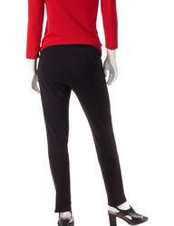 Briggs New York Women's Casual Stretch Capri Pants - Black - Size: 16p