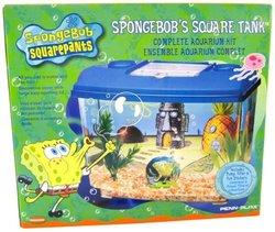 Penn Plax Sponge Bob Living Room Aquarium Kit