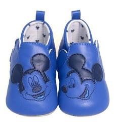 "Mayoral Boy's Newborn ""Disney Baby"" Moccasin Shoes - Blue - Size: 0-18m"