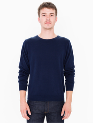 Agabang Men's French Terry Sweatshirt - Faded Navy - Small