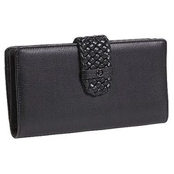 Buxton Women's Hailey Super Wallet - Black - Size: One