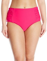 Jessica Simpson Women's Plus-Size High Waisted Bottom - Passion - Size:2XL
