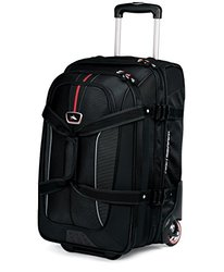 High Sierra Travel Bags: Drop Bottom Duffel/Black