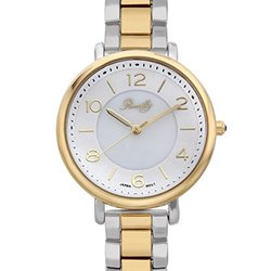 Romilly Gouyen Ladies Watch: 1448a-62627352-silver Gold Band