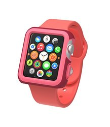 Speck Candyshell Case for Apple Watch: Red-Splash Pink/38mm