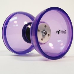 Higgins Brothers Revolution Triple-Bearing Diabolo - Purple by Higgins Brothers