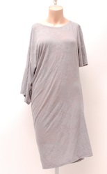 MM6 Maison Martin Margiela Women's Dress - Grey - Size: Large