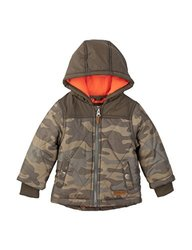 Carter's Boy's Puffer Jacket - Camo Print - Size: 4
