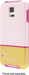 Isaac Mizrahi New York Case for Samsung Galaxy S5 Cell Phone - Pink/Gold