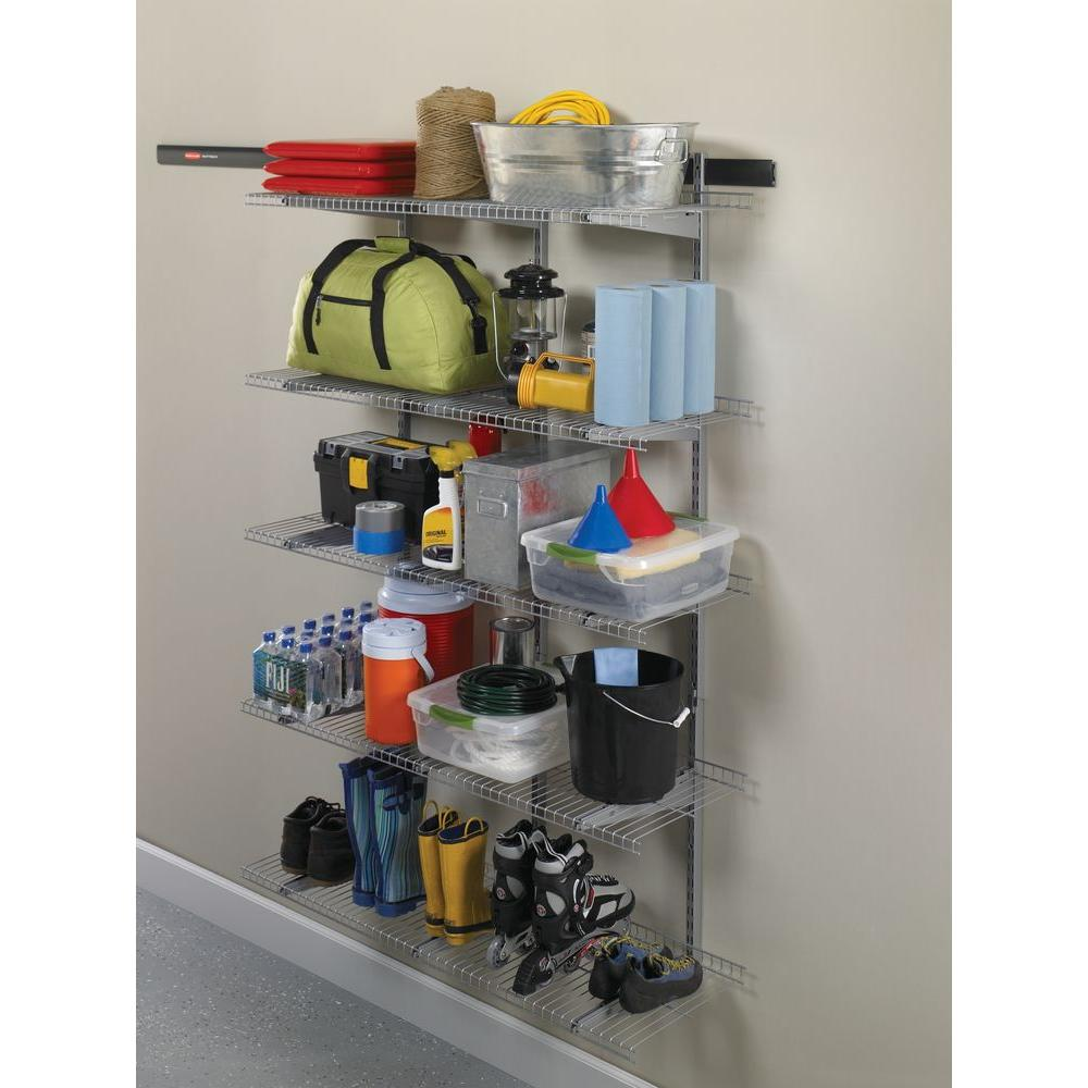 Rubbermaid FastTrack Garage 16 in  D Shelf Bracket with