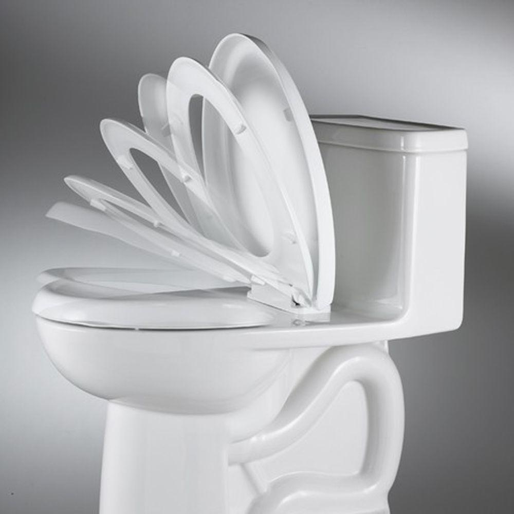 Admirable American Standard Slow Close Elongated Closed Front Toilet Evergreenethics Interior Chair Design Evergreenethicsorg