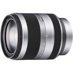 Sony Alpha E-mount 18-200mm F/3.5-6.3 OSS Lens - Silver (SEL18200)