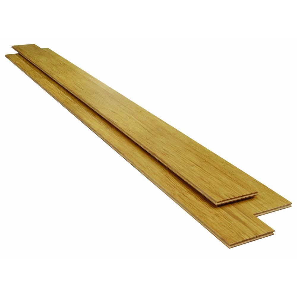 Strand Woven Natural Click Lock Bamboo Flooring