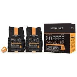 Bestpresso Nespresso Compatible Gourmet Coffee Capsules - 120