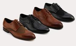 XRay Oxford Polyurethane Men's Shoes - Tayler Derby/Tan - Size: 11