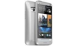 Mophie Juice Smartphone Case & 2500 mAh Power Bank for HTC One M7 - Silver