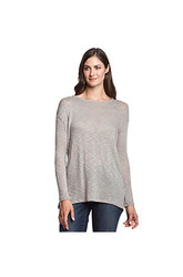 DKNY Jeans Overlap Back Sweater - Pebble - Size: Medium