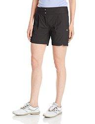 Lija Women's Terra League Shorts, Black, Size 8