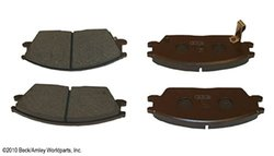 Beck Arnley  087-1337  Semi-Metallic Brake Pads