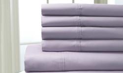 Sedona 400tc 100% Cotton Sheets: White/full (6 Piece)