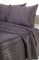 Piece Quilted Bed Set Size: King Color: Gray 3