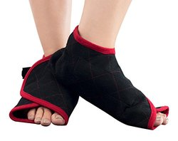 Hot and Cold Foot Wraps