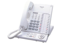 Panasonic 24 Button Digital Corded Telephone - White