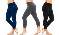 Bally Fitness Women's Tummy-Control Leggings - Black - Size: XL