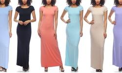 Chal Women's Maxi Dress (3-pack) - Black-Navy-Black - Size: Large