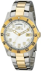 Invicta Men's Specialty Two-Tone SS White Dial