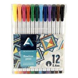Art Alternatives Fine Liner Pen Set/12